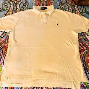 POLO Ralph Yellow Polo Shirt - Size L